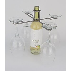 Industrial Evolution 1 Bottle Tabletop Wine Rack by Metrotex Designs