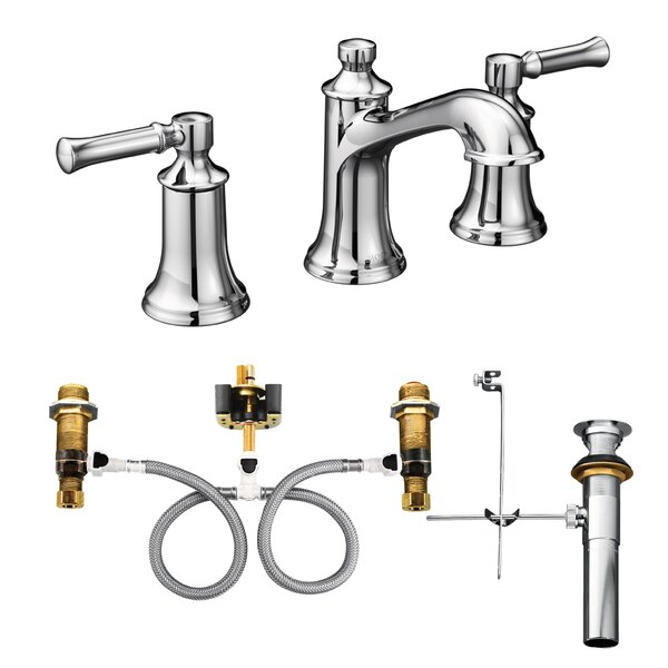 Dartmoor Widespread Bathroom Faucet with Drain Assembly