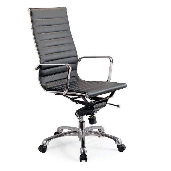 Welsch Leatherette Conference Chair