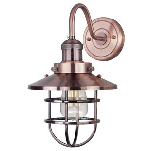 Find Archie 1-Light Wall Sconce By 17 Stories