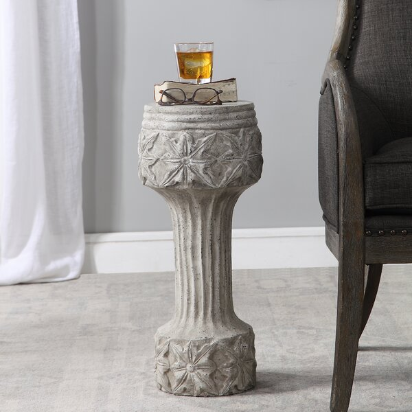 Hathaway End Table By World Menagerie