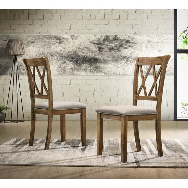Leonila Upholstered Dining Chair (Set of 2) by Gracie Oaks