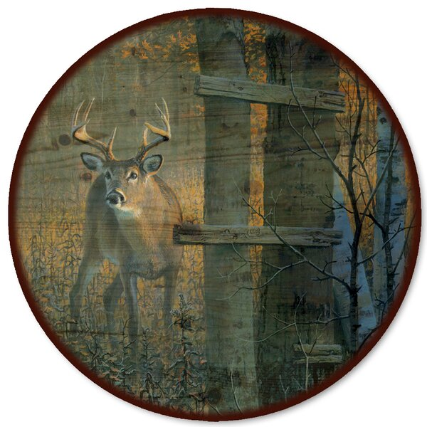 The Buck Stops Here Lazy Susan by WGI-GALLERY