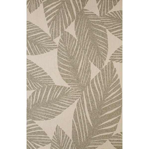 Palm Coast Hand-Woven Gray/Beige Indoor/Outdoor Area Rug by Panama Jack Home