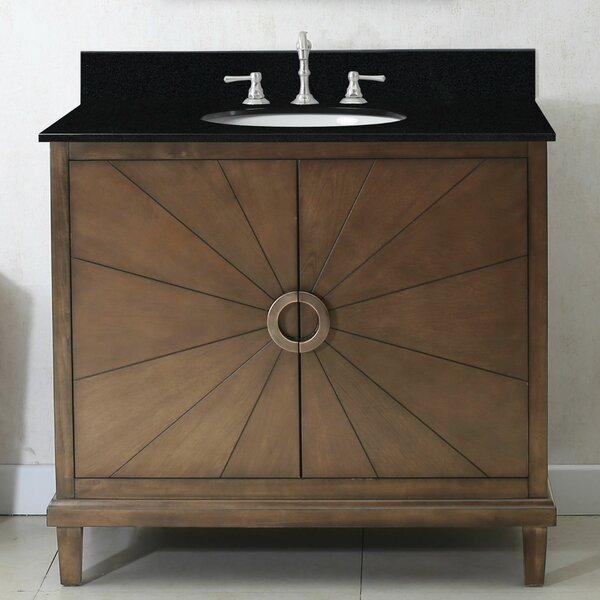 Quick 36 Single Bathroom Vanity Set by World Menagerie