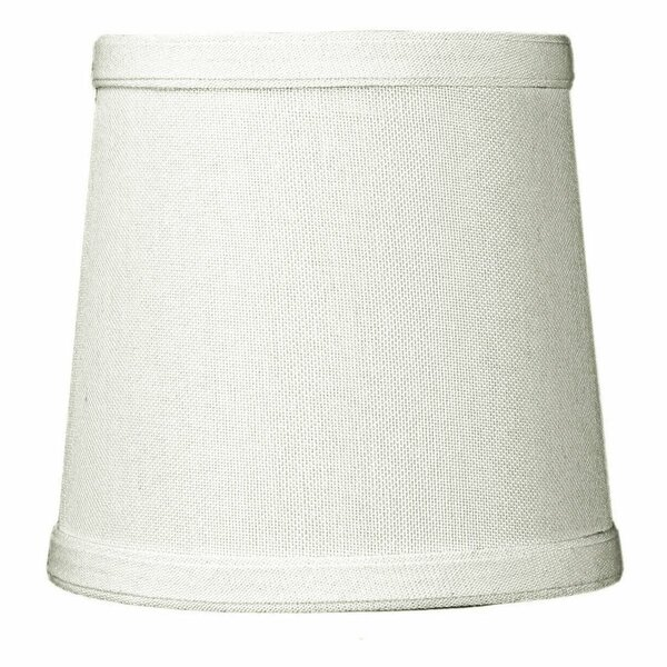 5 W Linen Drum Lamp Shade ( Clip On )