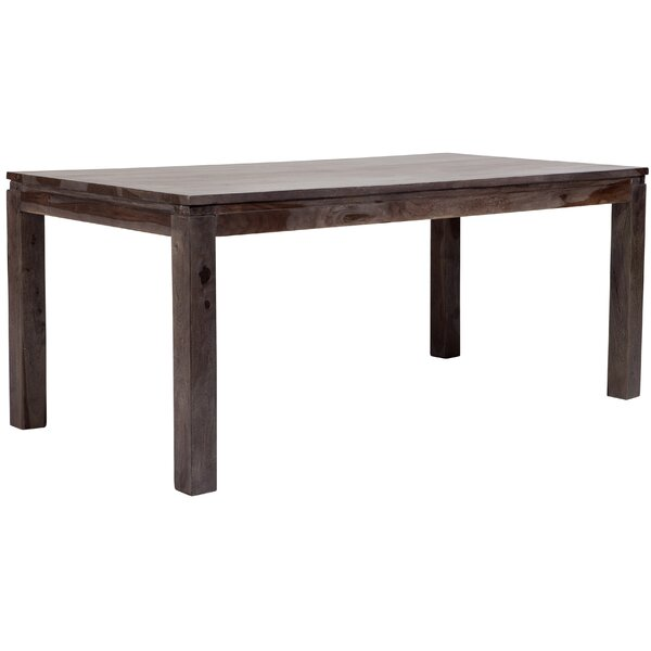 Mata Solid Wood Dining Table By Loon Peak