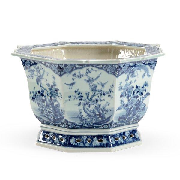 Canton Porcelain Pot Planter by Chelsea House
