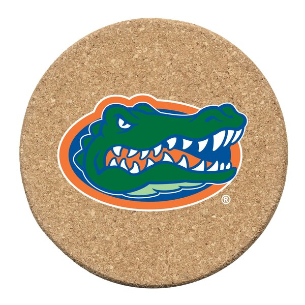 University of Florida Cork Collegiate Coaster Set (Set of 6) by Thirstystone
