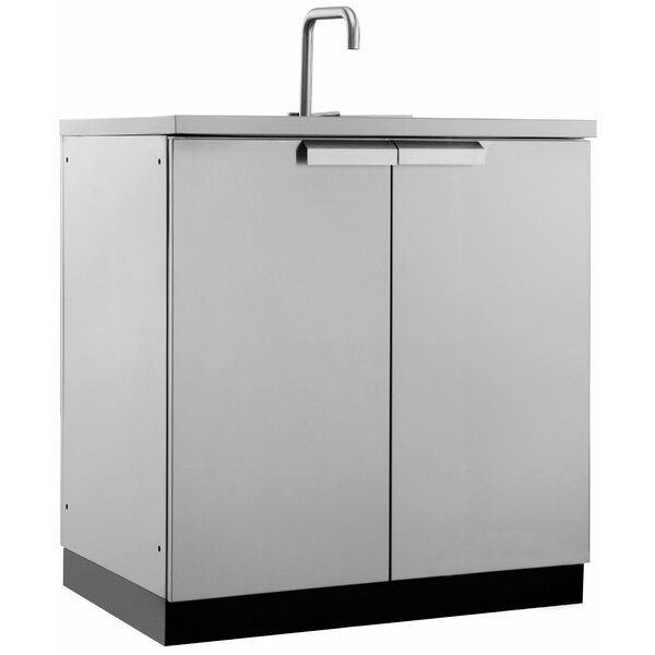 Outdoor Kitchen Stainless Steel 32 Sink by NewAge