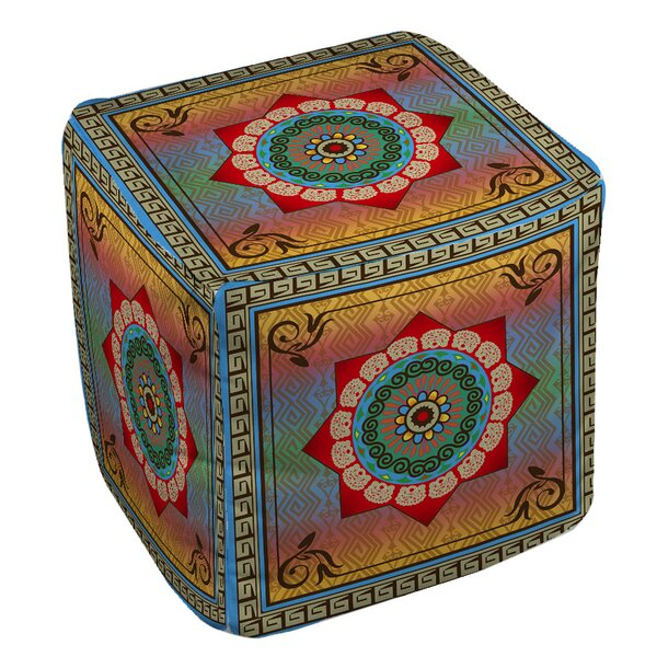 Mexican Summer Pouf by Manual Woodworkers & Weavers