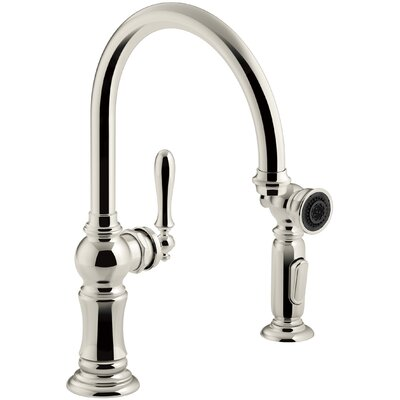 Kitchen Faucet Polished Nickel photo