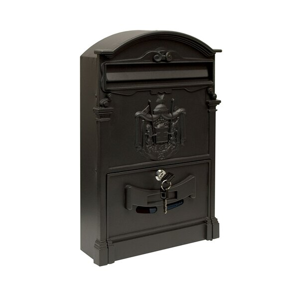 Elegant Locking Wall Mounted Mailbox by ALEKO