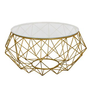 Diamond Wire Coffee Table Fashion N You by Horizon Interseas