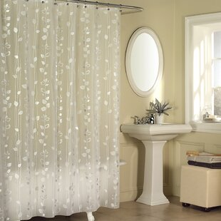 Merveilleux Temples Ivy Vinyl Shower Curtain