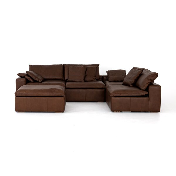 Steinway Symmetrical 2 Piece Sectional with Ottoman by Williston Forge