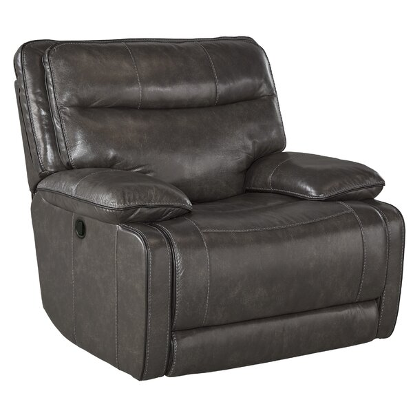 Gigi Leather Manual Rocker Recliner by Trent Austin Design