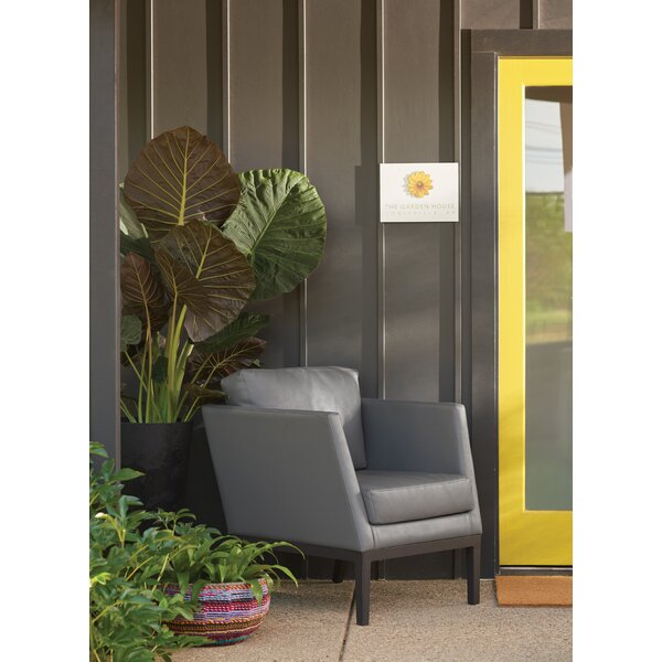 Cammack Patio Chair with Cushions by George Oliver