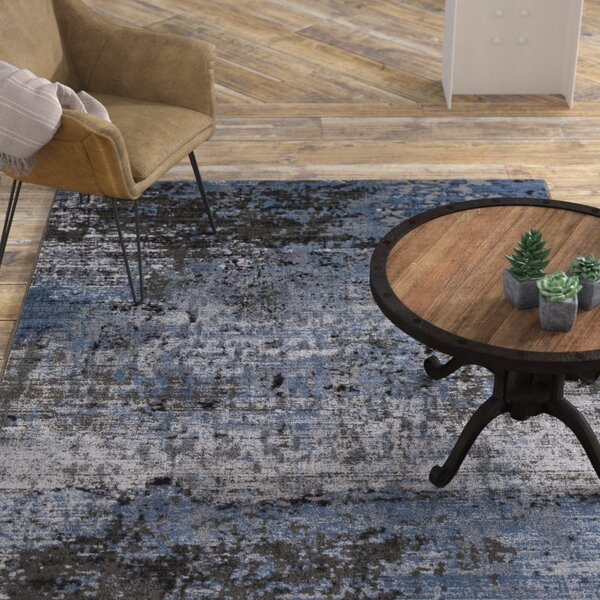 Daleville Blue Area Rug by Williston Forge