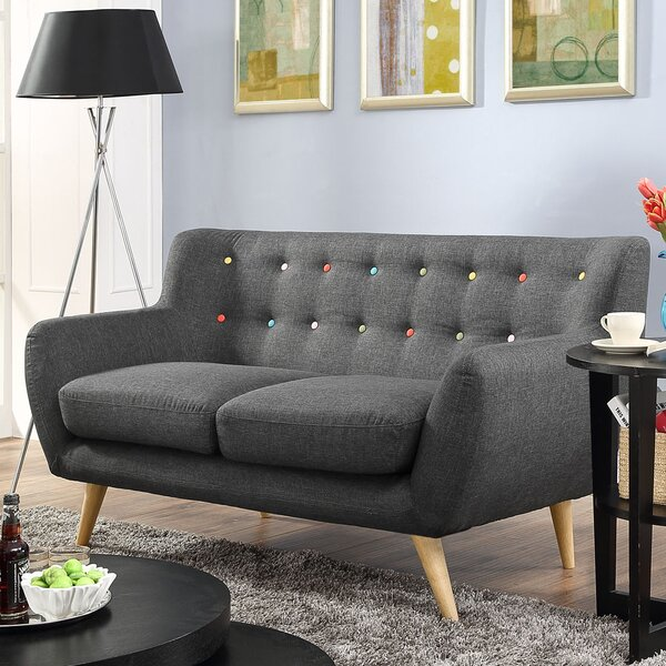 Modern Collection Meggie Loveseat by Langley Street by Langley Street