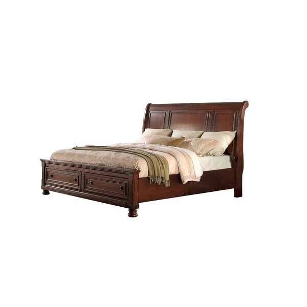 Mapes Storage Sleigh Bed by Gracie Oaks