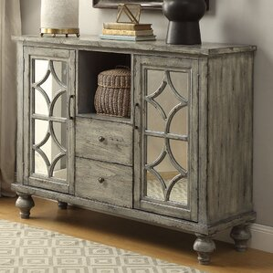 Diondre 2 Door and 2 Drawer Console Table by Bungalow Rose