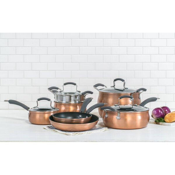 11 Piece Non-Stick Cookware Set by Epicurious