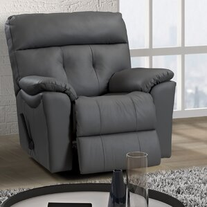 Sabrina Leather Power Rocker Recliner by Relaxon