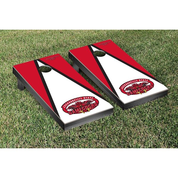 NCAA Triangle Wooden Version 1 Cornhole Game Set by Victory Tailgate