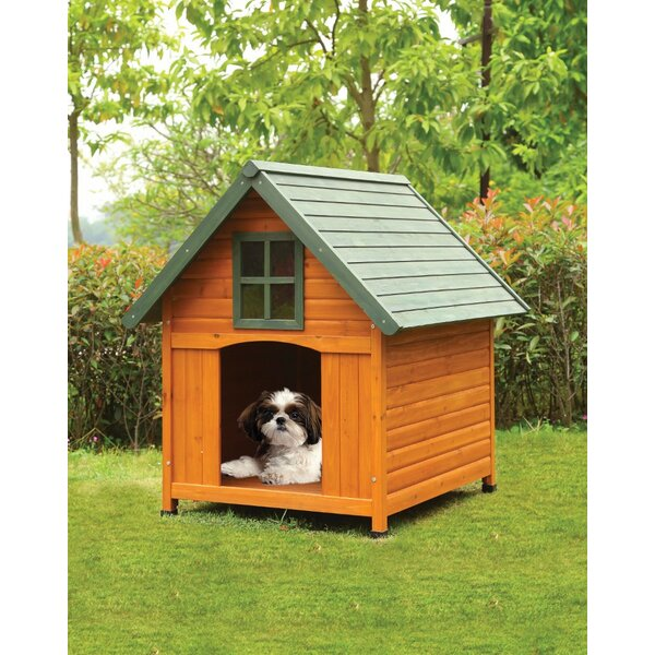 Wooden Dog House by Benzara