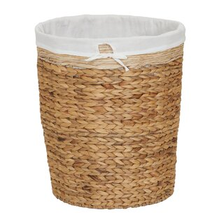 Compare Wicker Basket Hamper By Highland Dunes