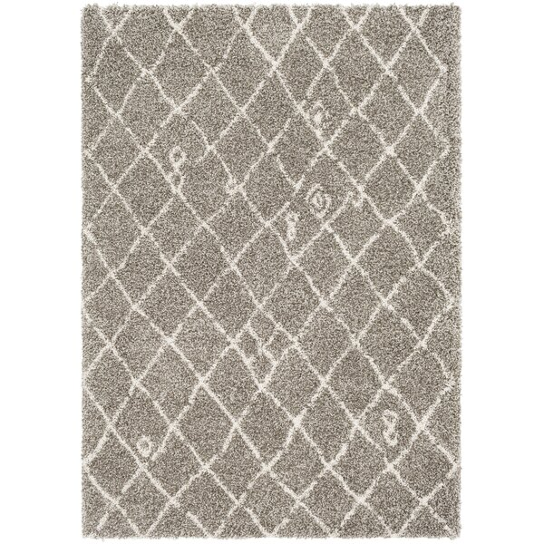 Dileo Trellis Taupe/Brown Area Rug by Williston Forge