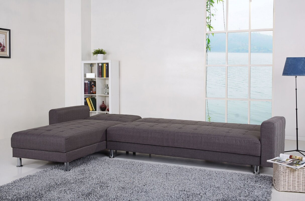 sectional w of sleepers large by sectionals nailhead fabrics colors sofas and sleeper cliffside klaussner hundreds