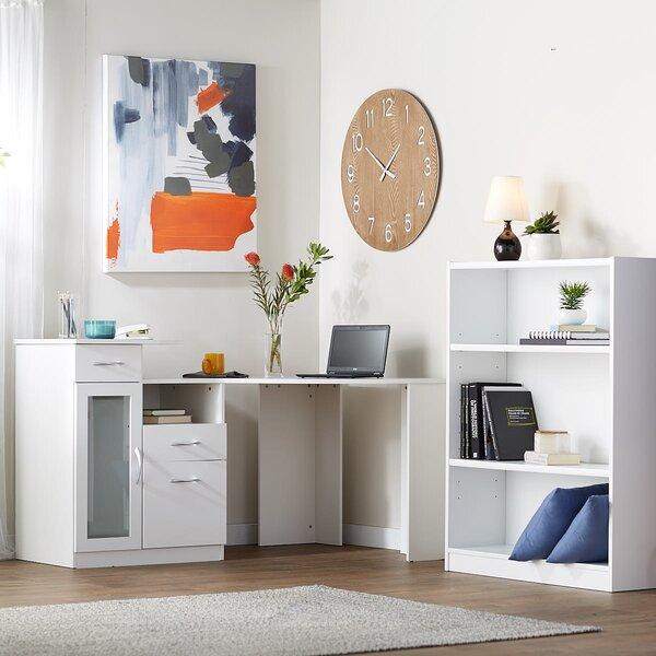 Cherree 2 Piece L-Shape Desk Office Suite by Zipcode Design