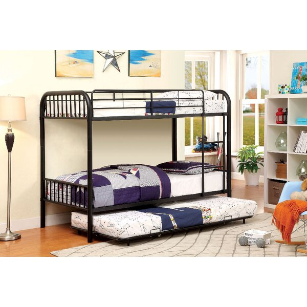 Vegard Twin over Twin Bunk Bed by Zoomie Kids