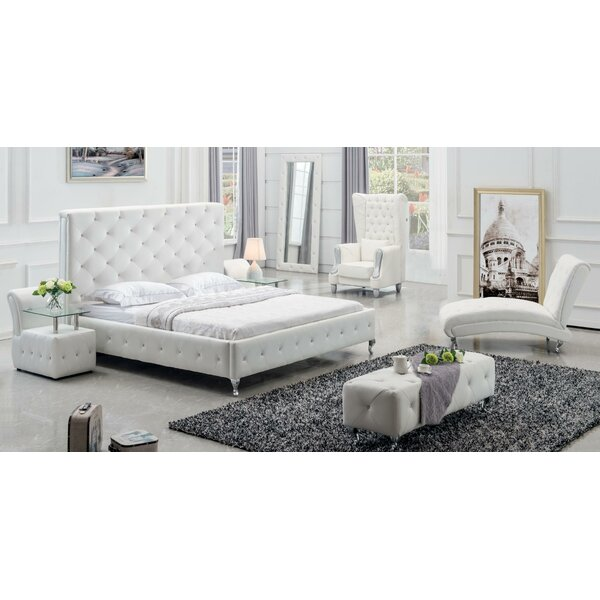 Usonia King Standard 3 Piece Bedroom Set by Ebern Designs