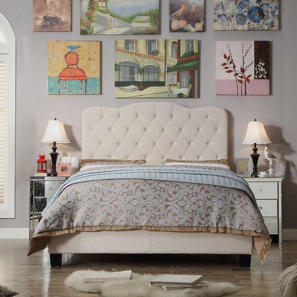 Indy Upholstered Standard Bed by Winston Porter