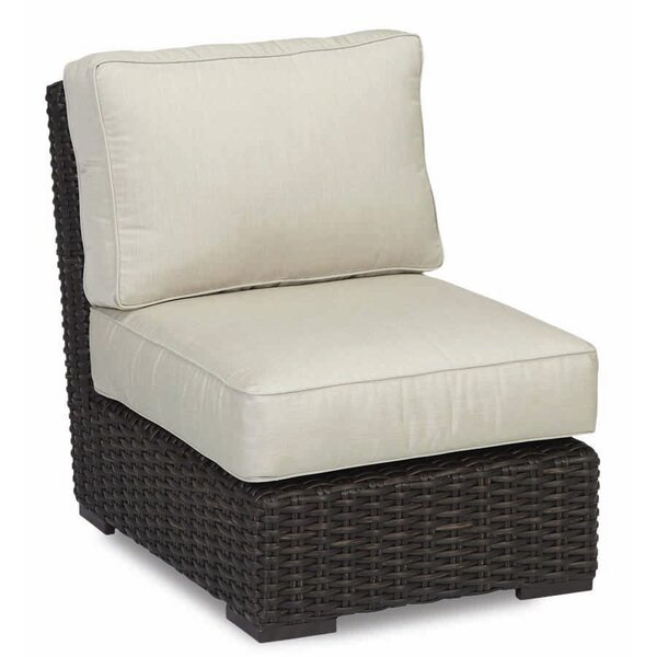 Cardiff Armless Club Chair with Cushions by Sunset West