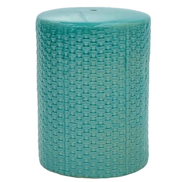 Woven Garden Stool by New Pacific Direct