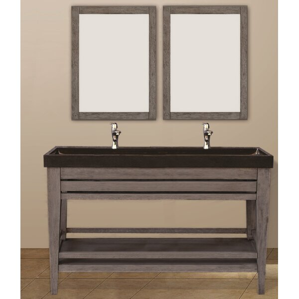 Madalyn 60 Double Bathroom Vanity Set by Union Rustic