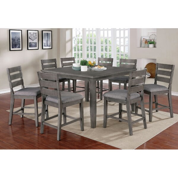 Jarod 9 Piece Counter Height Dining Set by Gracie Oaks Gracie Oaks