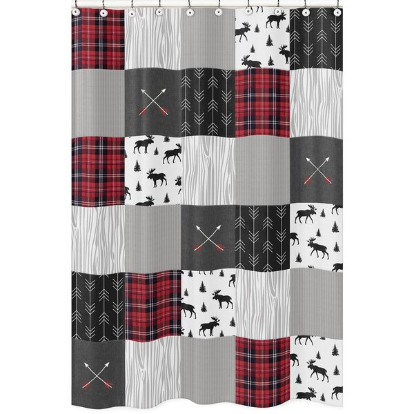 Rustic Patch Shower Curtain by Sweet Jojo Designs