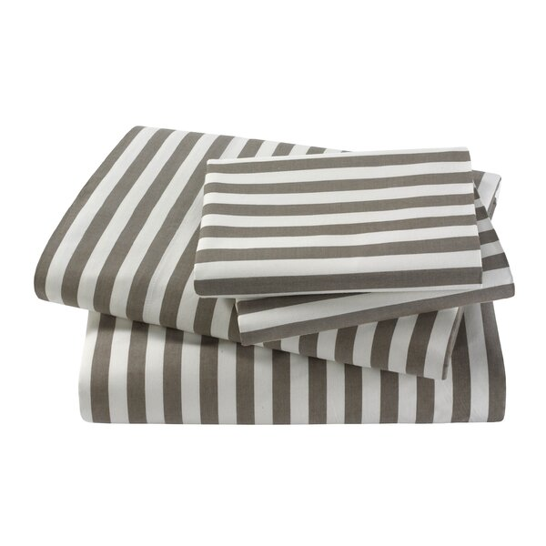 Draper Stripe Sheet Set by DwellStudio