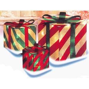 Lighted Christmas Gift Boxes | Wayfair