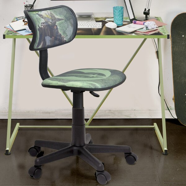 Brilliant Star Wars Yoda Mesh Task Chair By Idea Nuova Gmtry Best Dining Table And Chair Ideas Images Gmtryco