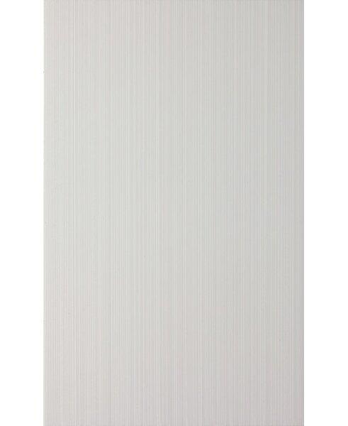 16 x 10 Ceramic Tile in Glossy Brighton White by Seven Seas