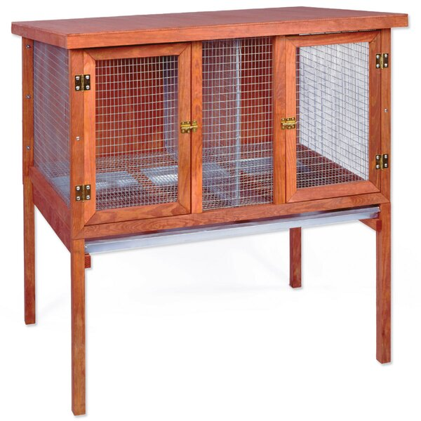 Double Rabbit Hutch by Ware Manufacturing