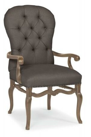 Belgian Oak Armchair by Bernhardt