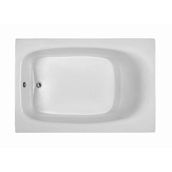 Rectangle 71.25 x 47.25  Soaking Bathtub by Reliance