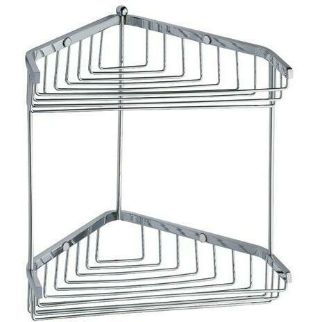 Koehler Corner Shower Caddy Shelf Organizer by Symple Stuff